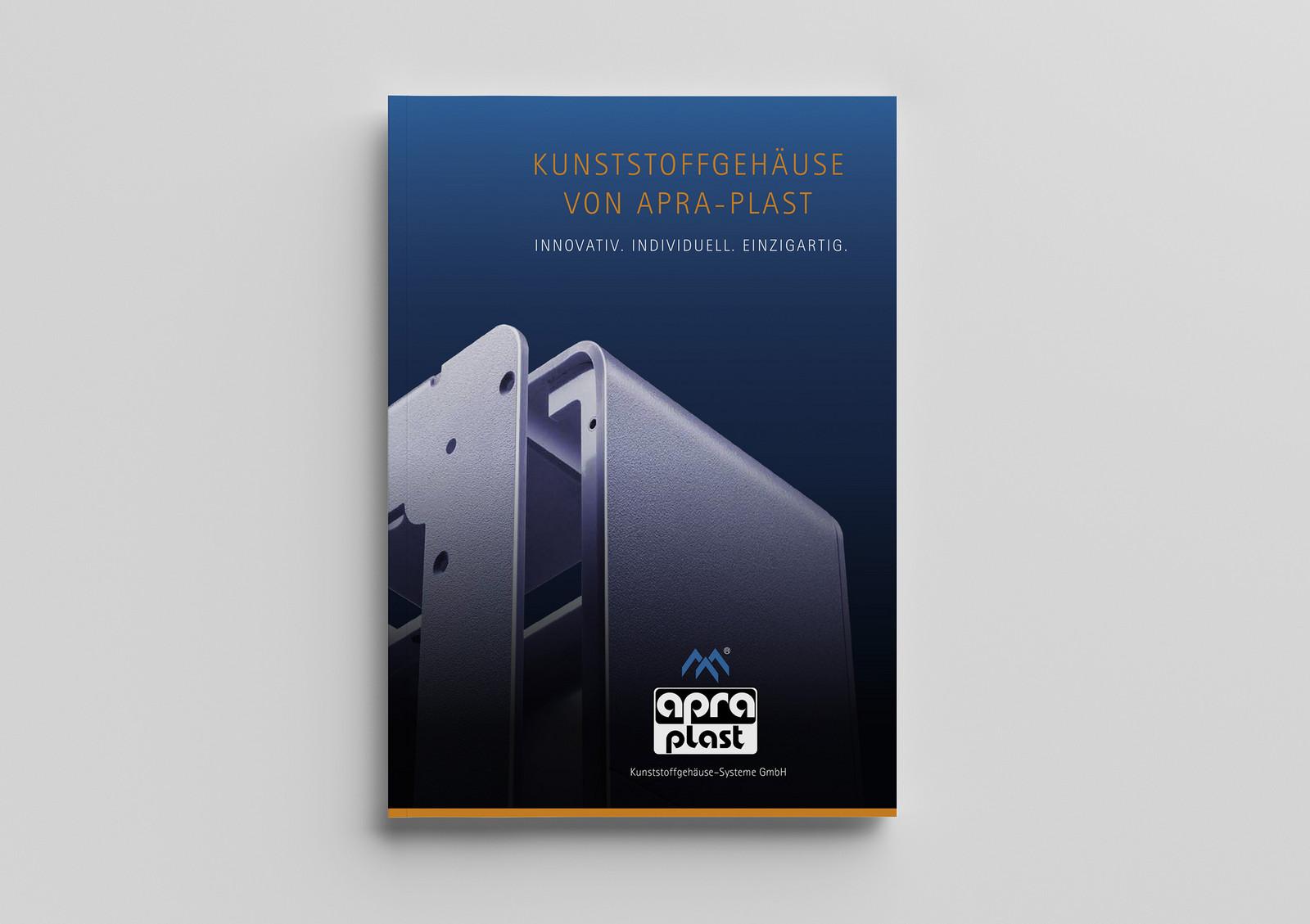 apra-plast Kunststoffgehäuse Broschüre