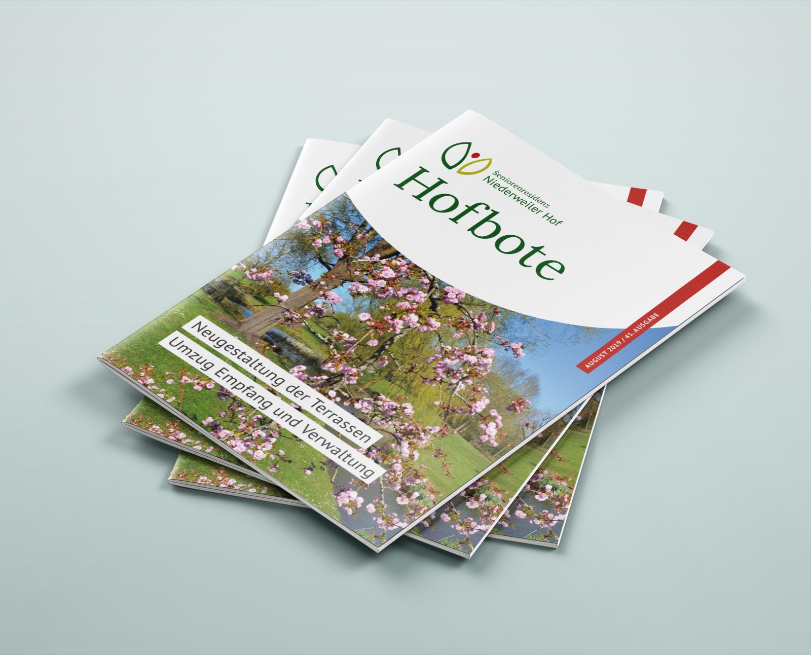 Niederweiler Hof Hausmagazin