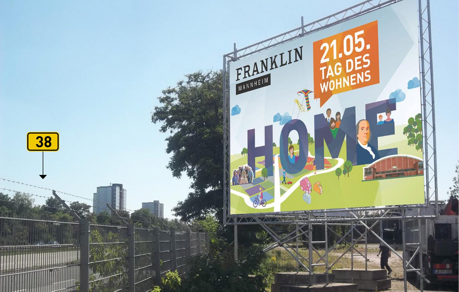 """Franklin Plakat """"Tag des Wohnens"""""""