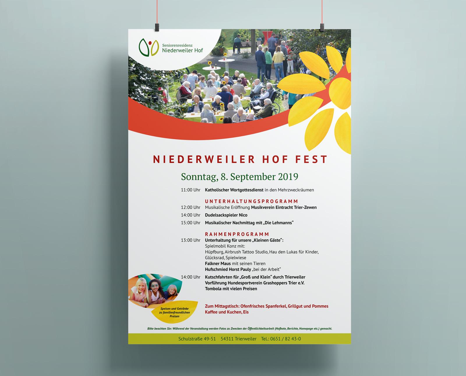 Niederweiler Hof Poster