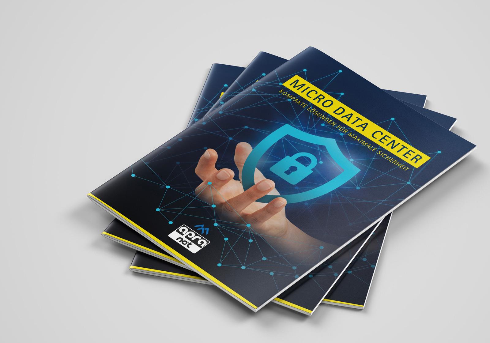 Cover der apraNET MDC Broschüre